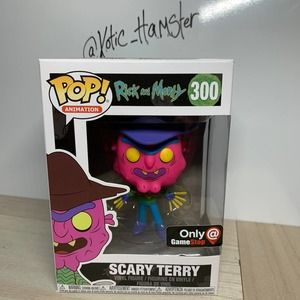 Funko Pop Scary Terry Neon Blacklight